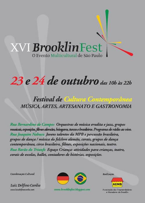 Brooklinfest 2010 terá programação multicultural